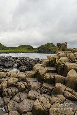 Photograph - Giant's Causeway by Elvis Vaughn
