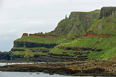 Photograph - Giant's Causeway Exploration by Bill Jordan