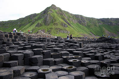 Photograph - Giants' Causeway by PJ Boylan