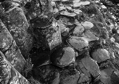 Photograph - Giants Causeway Rock Formations by Lexa Harpell