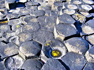 Photograph - Giant's Causeway Stones 2 by Nina Ficur Feenan