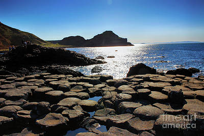 Photograph - Giant's Causeway View 2 by Nina Ficur Feenan
