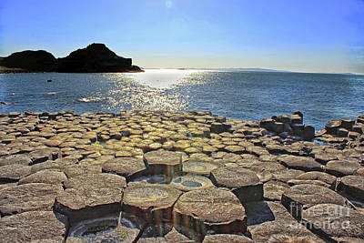 Photograph - Giant's Causeway View by Nina Ficur Feenan