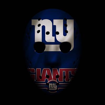 Photograph - Giants War Mask 3 by Joe Hamilton