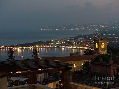Photograph - Giardini-naxos In The Evening by Rod Jones