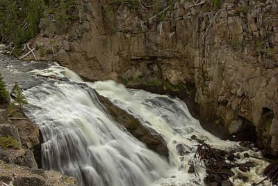 Photograph - Gibbon Falls by Jason Clarke