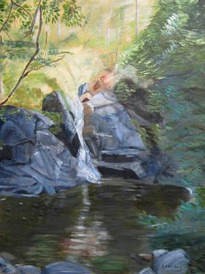 Painting - Gibbs Falls by Linda Feinberg