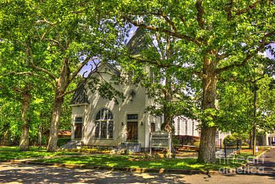 Photograph - Gibbs Memorial Baptist Bostwick Georgia by Reid Callaway