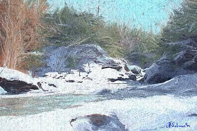 Gibou Falls Art Print