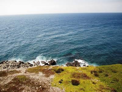 Photograph - Gibraltar Atlantic Ocean View IIi Uk by John Shiron