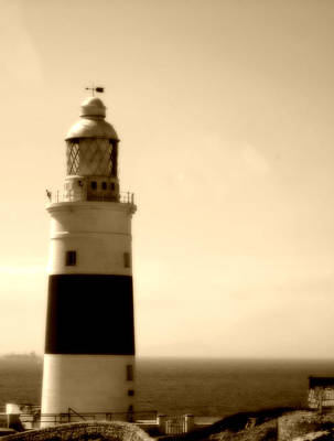 Photograph - Gibraltar Lighthouse Uk by John Shiron