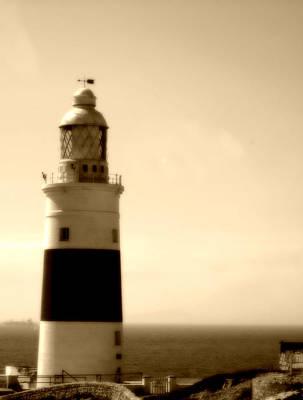 Photograph - Gibraltar Lighthouse Uk by John Shiron