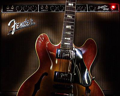 Gibson 335 Art Print