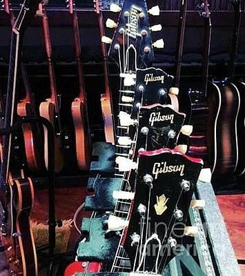 Photograph - Gibson  by John S