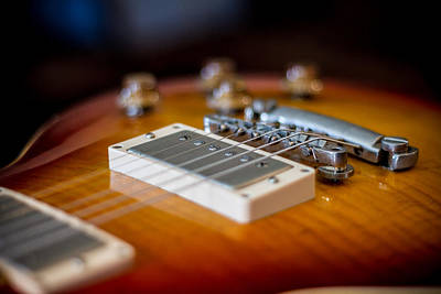 Photograph - Gibson Les Paul #3 by Robert J Caputo