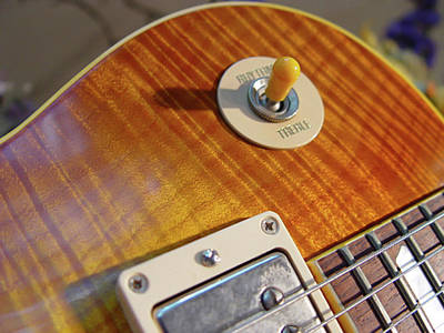 Photograph - Gibson Les Paul Selector Switch by Guitar Wacky