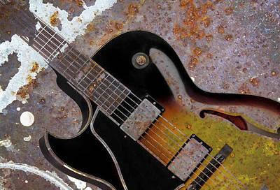 Photograph - Gibson Rust by Steve McKinzie