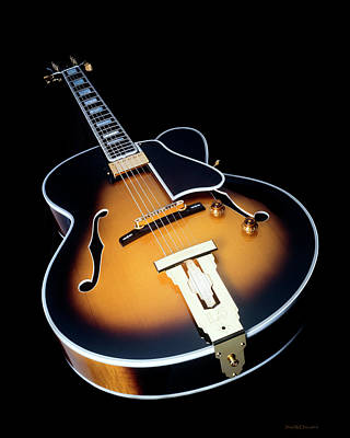 Gibson Wes Montgomery L-5 Art Print by Jerry McElroy