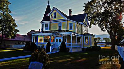 Photograph - Gibson-woodbury House by Patti Whitten