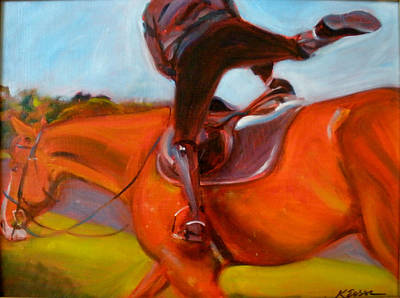Painting - Giddy Up Go by Kaytee Esser