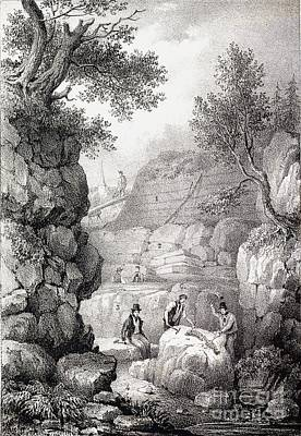 Mantell Photograph - Gideon Mantell, Tilgate Excavatation by Paul D. Stewart
