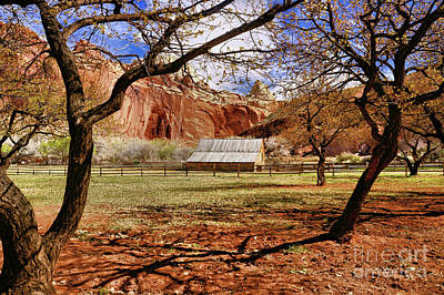 Photograph - Gifford Barn 3 by Roxie Crouch