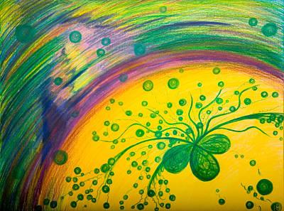 Gift Art Print by Elena Soldatkina