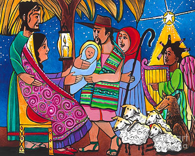 Painting - Gift Of Christmas - Mmgoc by Br Mickey McGrath OSFS