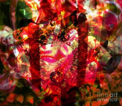 Visionary Art Display Digital Art - Gift Of Family by Fania Simon