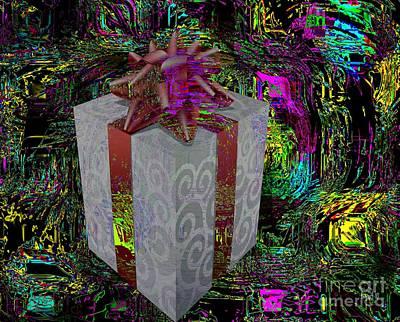 Visionary Art Display Digital Art - Gift Of Friendship by Fania Simon