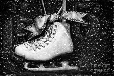 Painting - Gift Of Ice Skating by David Millenheft