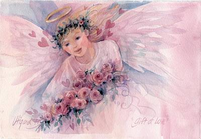 Painting - Gift Of Love by Carolyn Utigard Thomas
