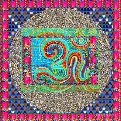 Painting - Gift Of Om From Ancient Indian Culture Fineart Graphics By Navinjoshi At Fineartamerica.com Popular  by Navin Joshi