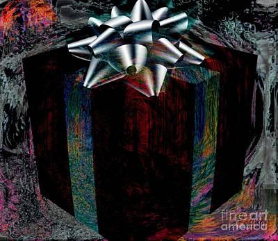 Visionary Art Display Digital Art - Gift On The Inside by Fania Simon