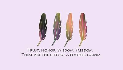 Photograph - Gifts Of A Feather by Whispering Peaks Photography