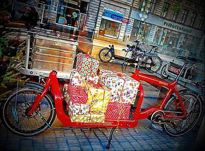Photograph - Gifts On Two Wheels by Dorothy Berry-Lound