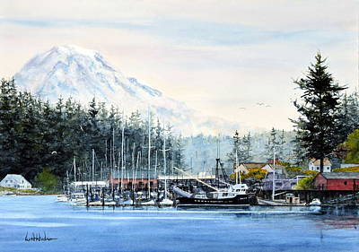 Painting - Gig Harbor by Bill Hudson