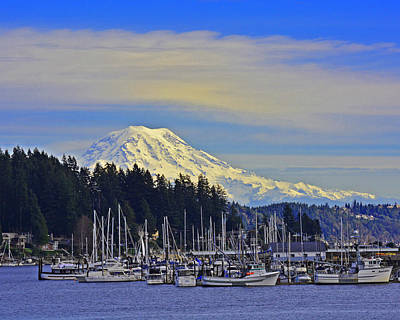 Gig Harbor Art Print by Jack Moskovita