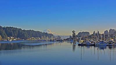 Photograph - Gig Harbor, Wa by Jack Moskovita