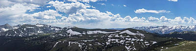 Photograph - Gigapan Rocky Mountain National Park  by John McGraw