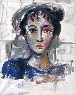 Painting - Gigi by Mykul Anjelo