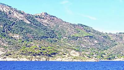 Digital Art - Giglio Castello - Isola Del Giglio by Joseph Hendrix