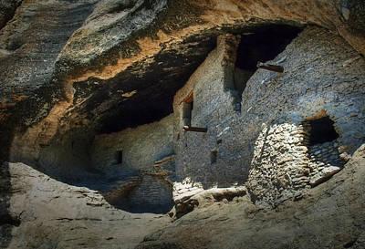 Photograph - Gila Cliff Dwellings by Fred Lassmann