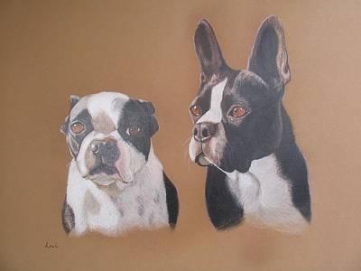 Gilbert And Ellis Art Print by Luci Garten