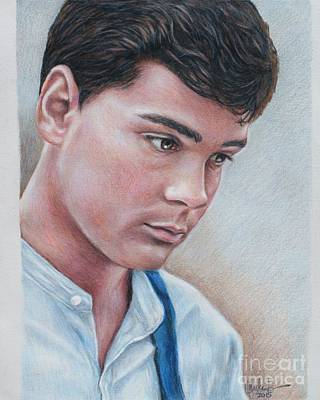 Drawing - Gilbert Blythe / Jonathan Crombie by Christine Jepsen