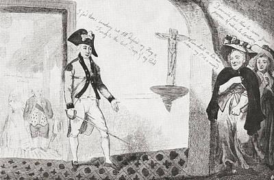 Gilbert Du Motier, Marquis De Lafayette Print by Vintage Design Pics