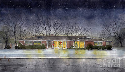 Painting - Gilbert Home by Tim Oliver
