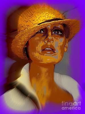 Digital Art - Gilda by Ed Weidman