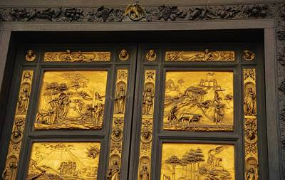 Photograph - Gilded Doors by JAMART Photography