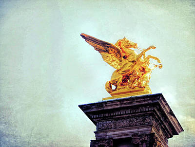 Photograph - Gilded Sculpture by JAMART Photography